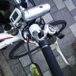 MY自転車のパーツ(道路交通法も改正したし安全運転で)
