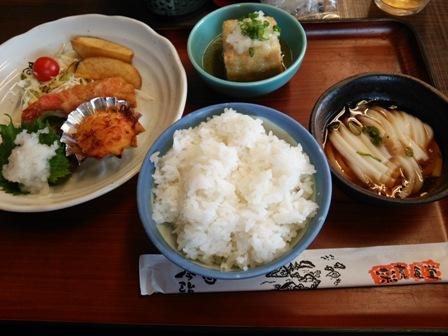 彩菜食堂のご飯