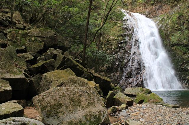 万古渓、ふぶきの滝