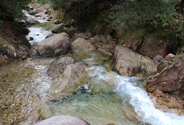 石ケ谷峡(長滑)