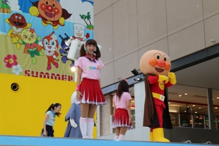 福岡アンパンマンこどもミュージアムのダンス