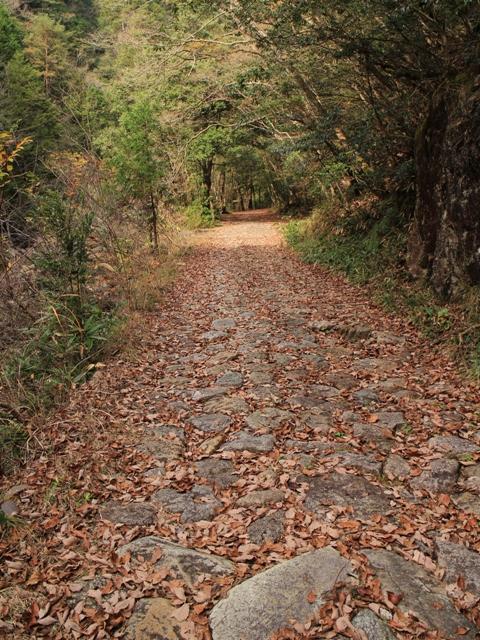 石ケ谷峡、石畳
