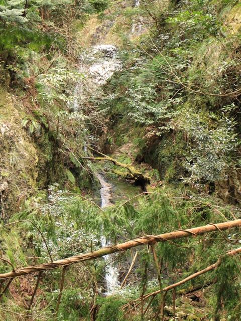 龍頭峡「念仏の滝」