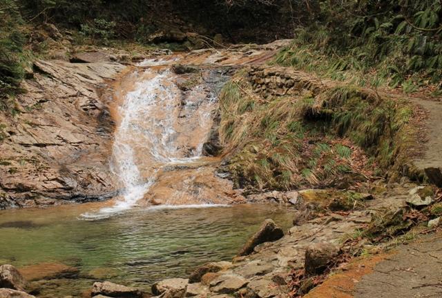 龍頭峡「ナメラ滝」