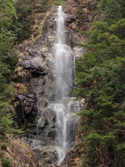 龍頭峡「二段滝」