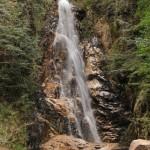 交流の森 『龍頭峡』二段滝と奥の滝(安芸太田町)