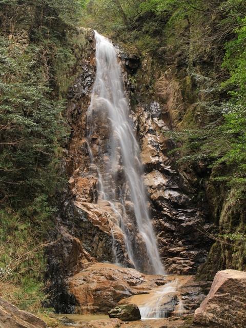 龍頭峡「奥の滝」