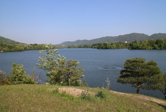 三永水源地のダム湖