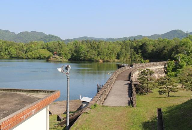 三永水源地のダム