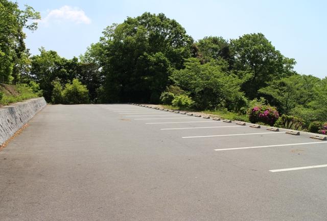 棲真寺公園の駐車場
