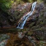 白井の滝(しろいのたき)、佐伯区湯来町
