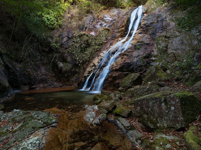 白井の滝(佐伯区湯来町)