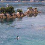 鶏小島(にわとりこじま)と船折瀬戸(ふなおりせと)|伯方島
