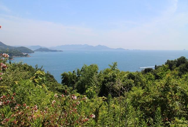 内海の横島、田島