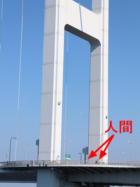 来島海峡大橋は大きい