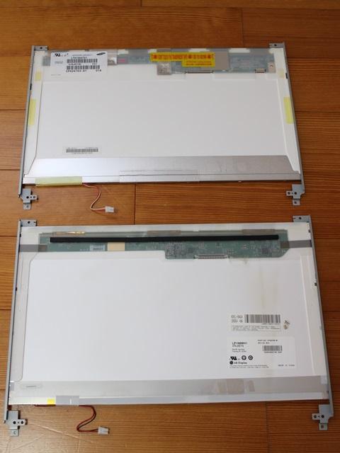 NF/D50、NF/D40にはメーカーの違う液晶パネルが組み込まれとった