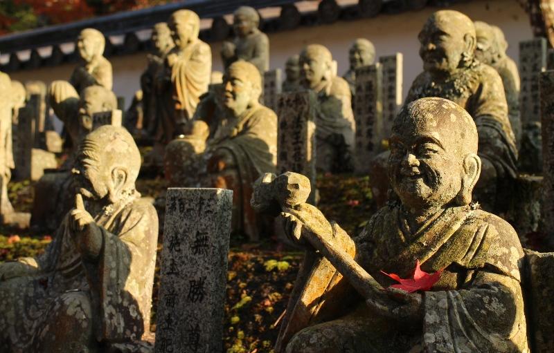 佛通寺、羅漢像