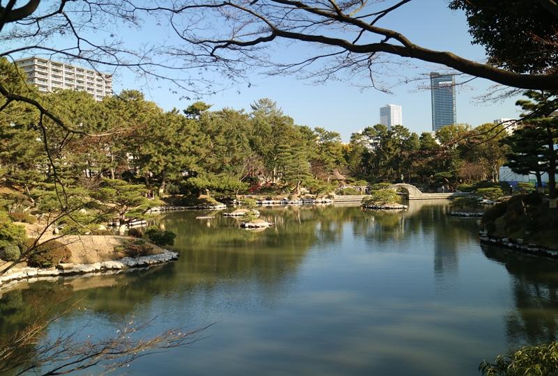 縮景園、濯纓池