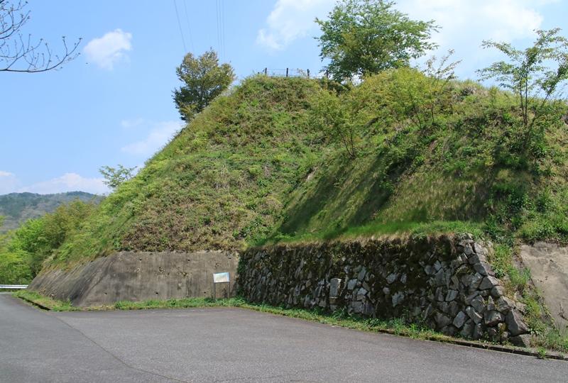 猪山展望台の石垣