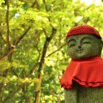 初夏の『三滝寺』、新緑とお地蔵さん(広島市西区)