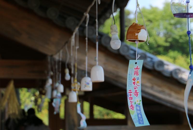 観音寺、風鈴祭り