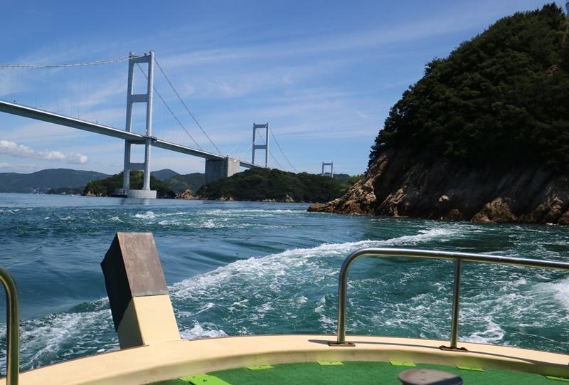 中渡島(なかとじま)の急流