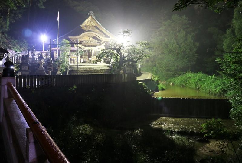 妹背の滝、大頭神社
