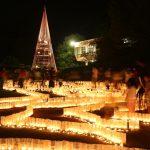 『花と光のページェント』美しい広島市植物公園の夜間開園!!
