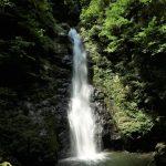 『瀬戸の滝』岩と原生林に囲まれた二段滝(広島県廿日市市吉和)