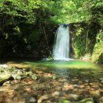 『那須の滝』十方山の懐にある清楚な名瀑(山県郡安芸太田町那須)