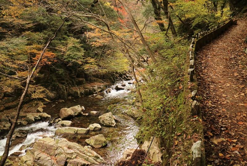 三段峡、遊歩道