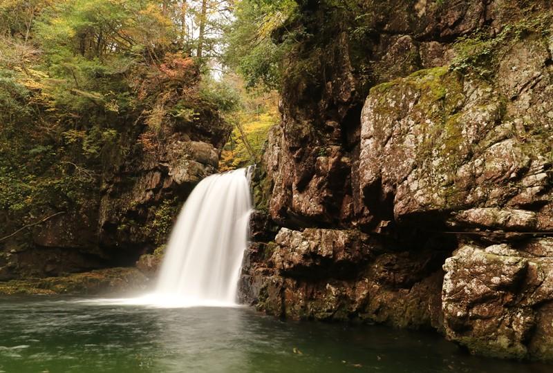 三段峡、二段滝