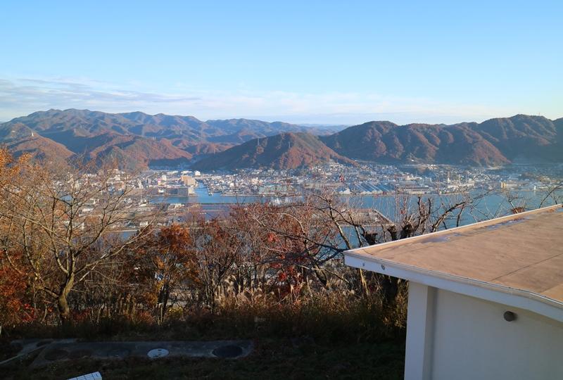 筆影山展望台からの眺望