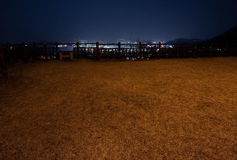 亀居公園、本丸跡