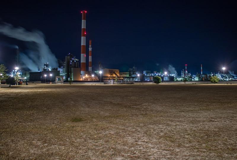 東栄地区港湾緑地からの夜景
