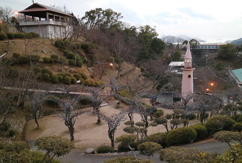 千光寺公園の猿山