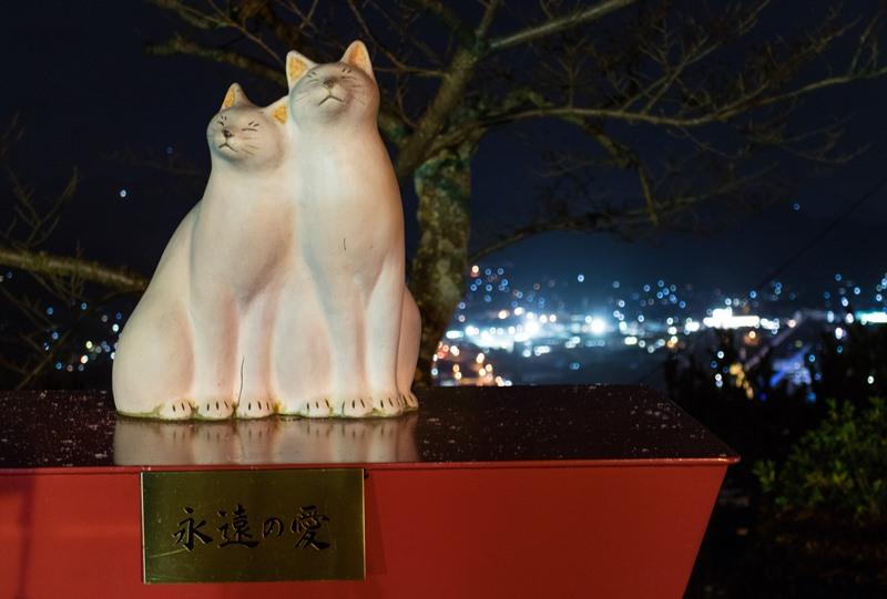 恋人の聖地に選定された千光寺公園
