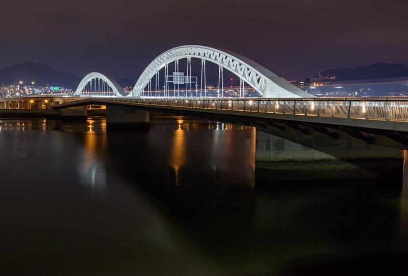 太田川大橋の夜景