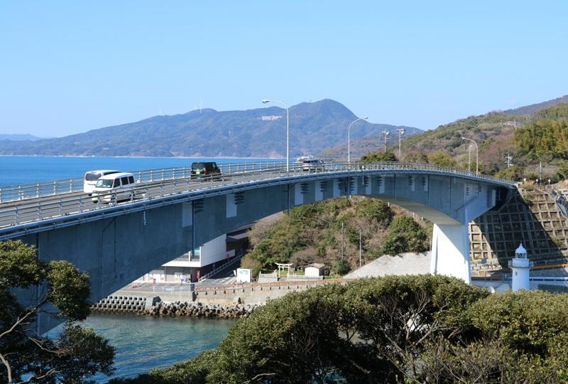 上関大橋、砲台跡(台場)