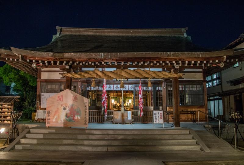 観音神社、本殿