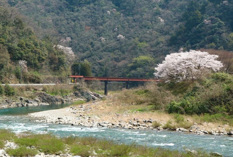JR可部線、今は使われていない鉄道橋