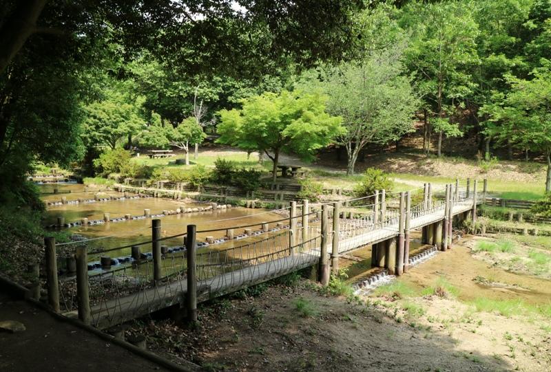 水分峡に架かる橋