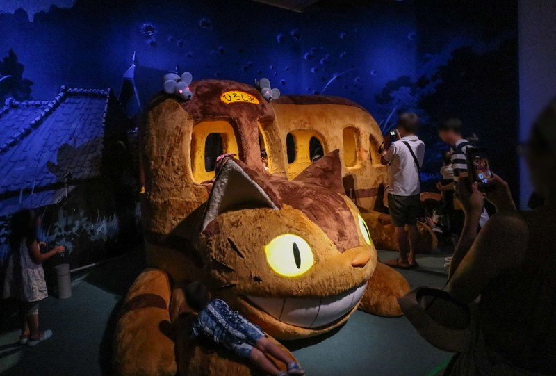 ジブリの大博覧会、となりのトトロに出てくる「ねこバス」