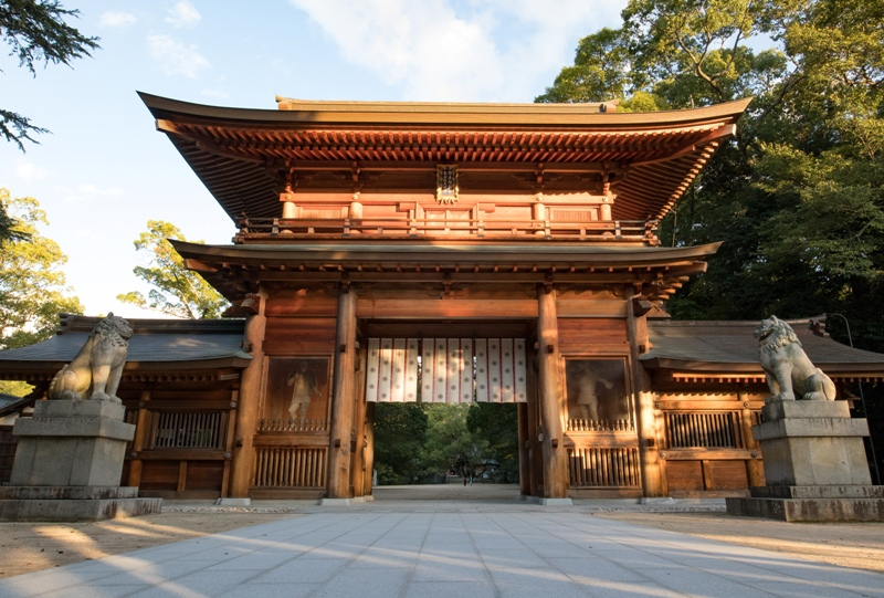 大山祇神社、総門