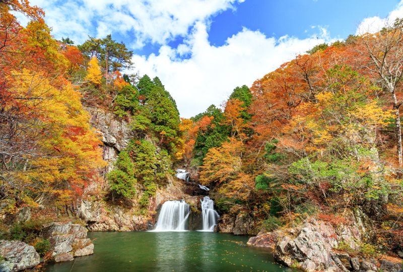 三ツ滝(三段峡五大景観)