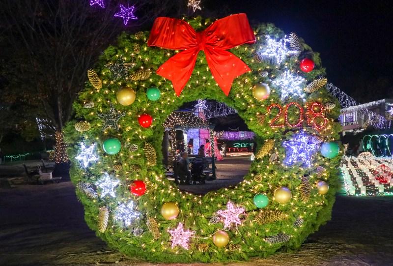 広島市植物公園「花の光のページェント」ウインターイルミネーション