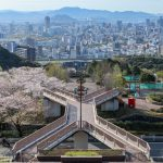 『竜王公園』桜も見晴らしも最高じゃのう!!(広島市西区)