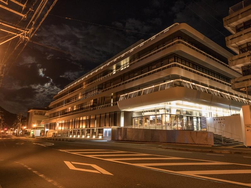 尾道市役所、新庁舎