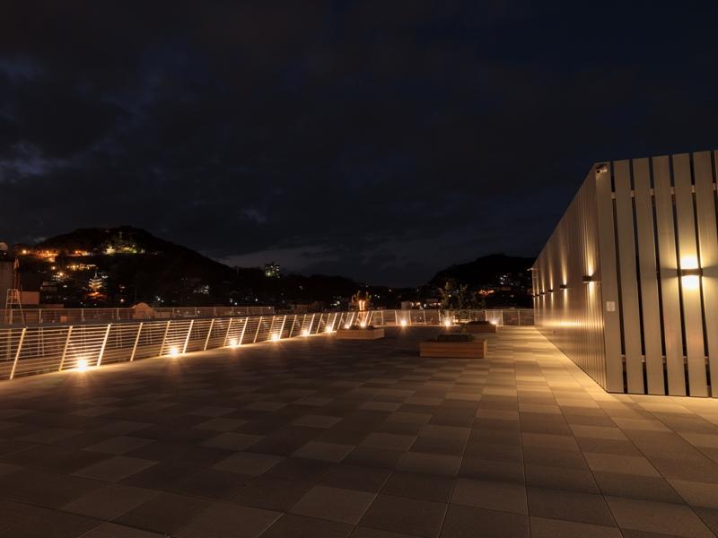 尾道市役所、新庁舎『展望デッキ』