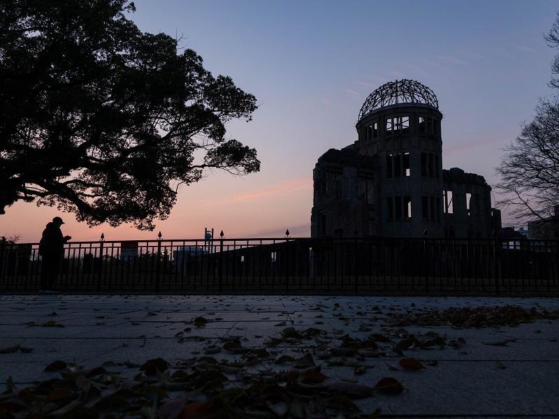 広島平和公園、原爆ドーム